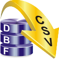 Convertitore DBF to CSV